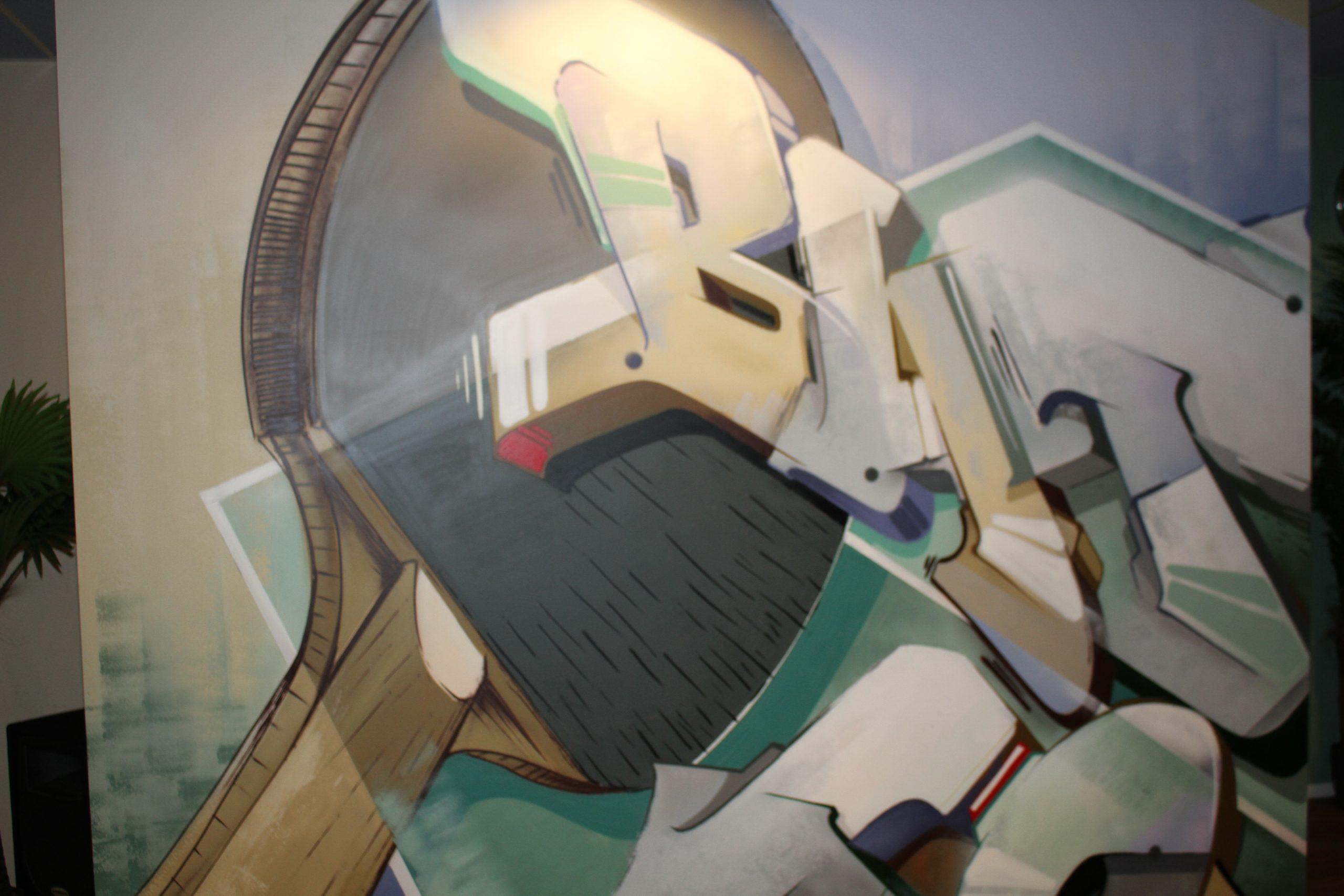 Graffiti kantine